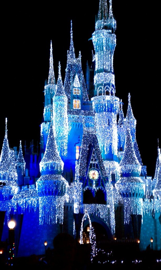 Magic Kingdom - Cinderella's Castle during Holidays :)